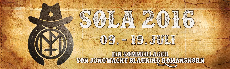 Sola 2016, 09. - 19. Juli, Ein Sommerlager von Jungwacht Blauring Romanshorn